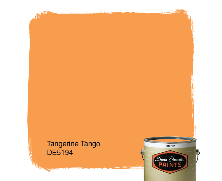 Tangerine Paint Color tangerine tango (de5194) — dunn-edwards paints
