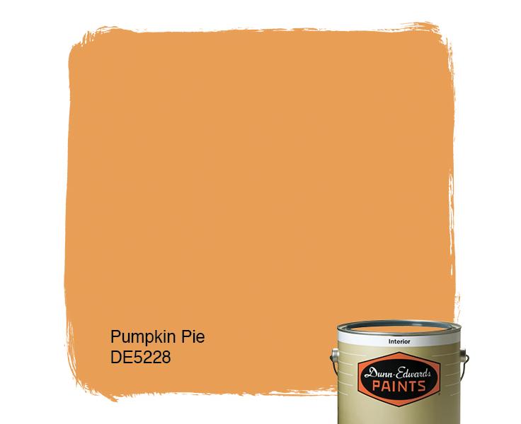 Pumpkin Orange Paint pumpkin pie (de5228) — dunn-edwards paints