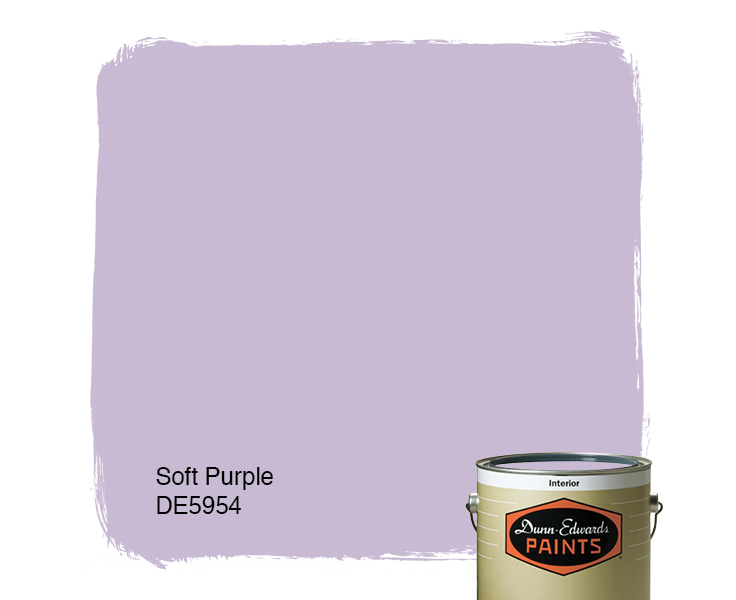Purple Paint Colors >> Soft Purple De5954 Paint Color Dunn Edwards Paints
