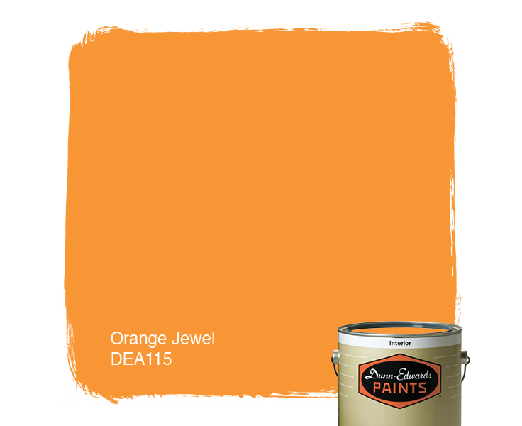 Orange Jewel DEA115 Dunn Edwards Paints