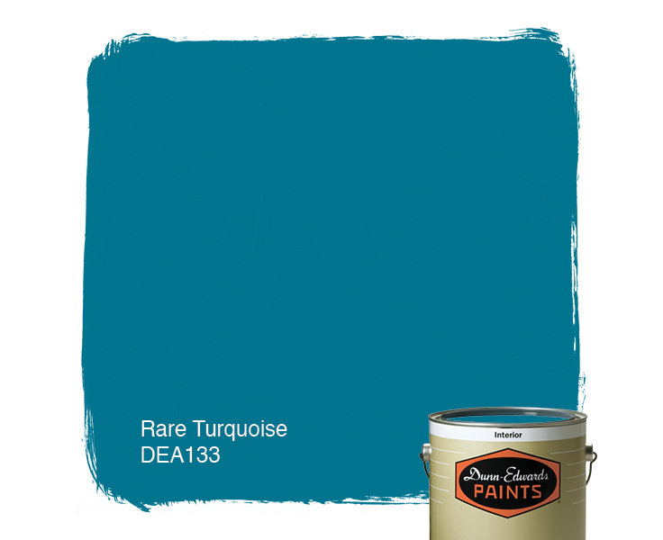 Rare Turquoise DEA133 DunnEdwards Paints