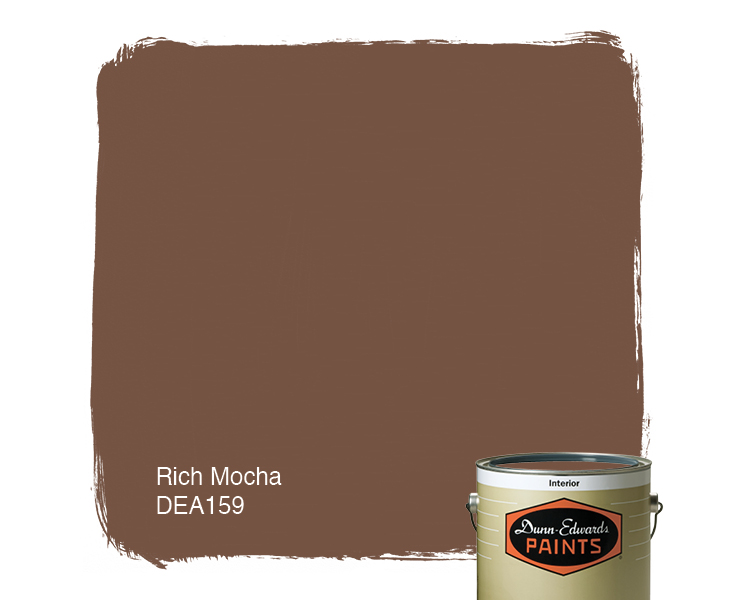 Mocha Paint Colors rich mocha (dea159) — dunn-edwards paints