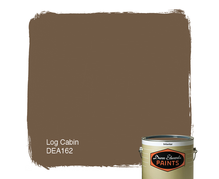 log cabin dea162 dunn edwards paints