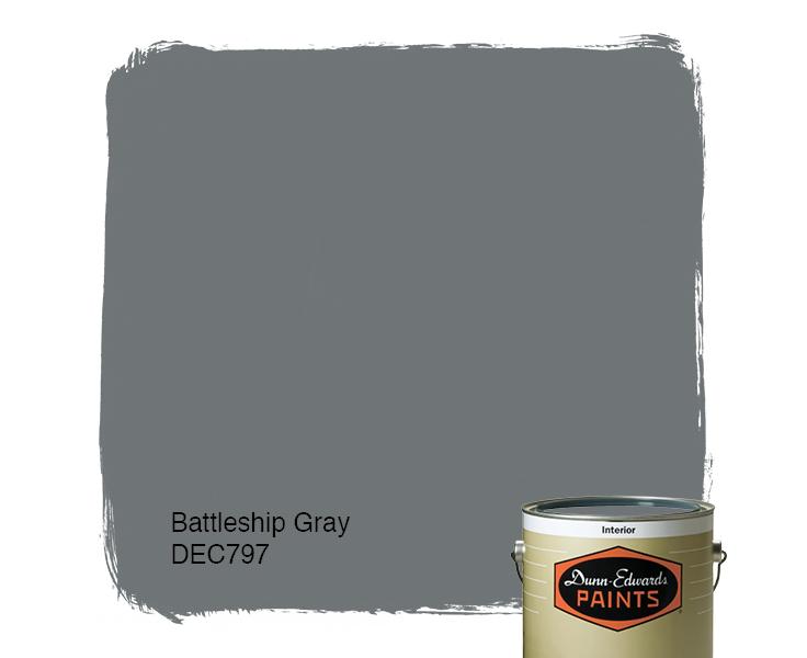 battleship gray dec797 dunn edwards paints - Battleship Grey Color