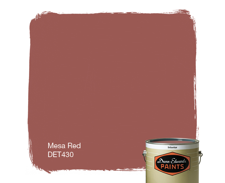 Red Paints mesa red (det430) — dunn-edwards paints
