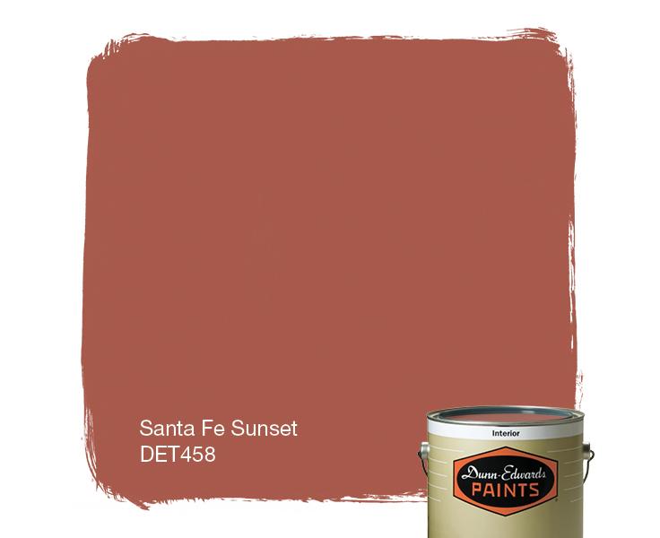 santa fe sunset det458 dunn edwards paints - Santa Fe Colors