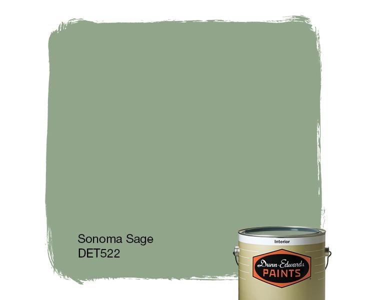 Sage Green Paint sonoma sage (det522) — dunn-edwards paints