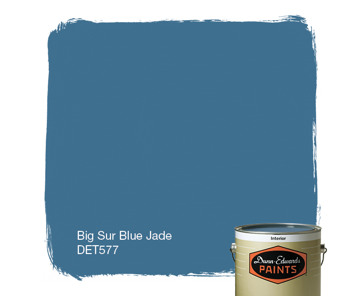 the color jade blue