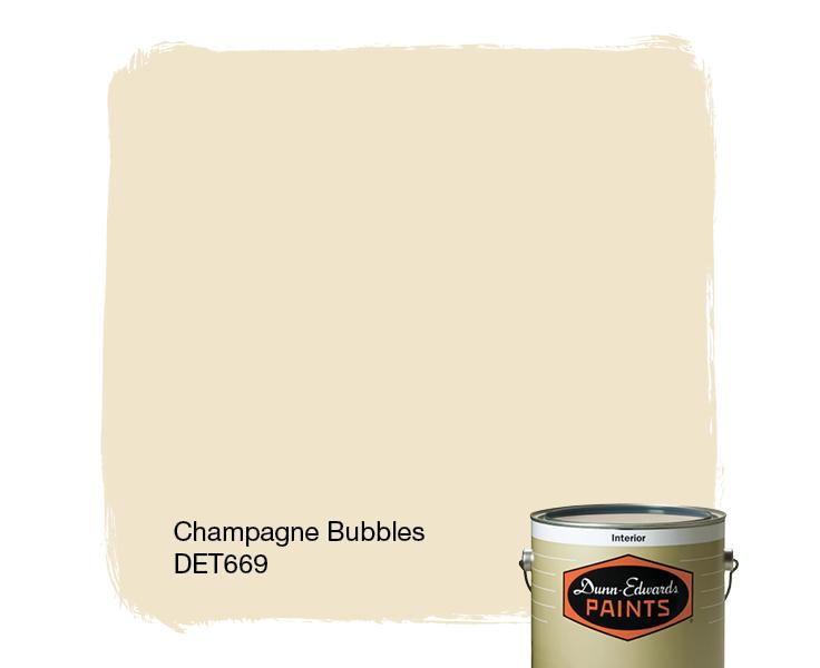 champagne paint colorChampagne Bubbles DET669  DunnEdwards Paints