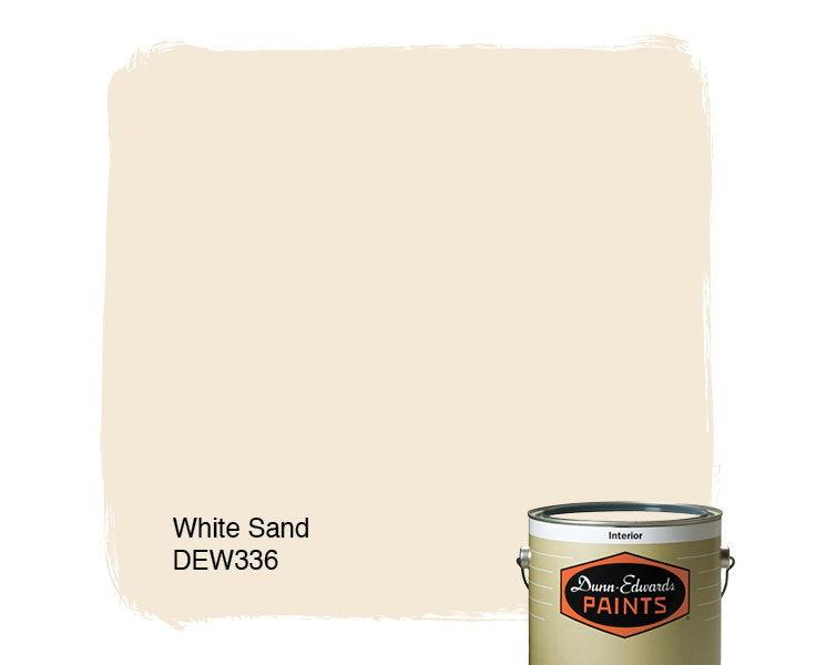 sand paint colorWhite Sand DEW336  DunnEdwards Paints