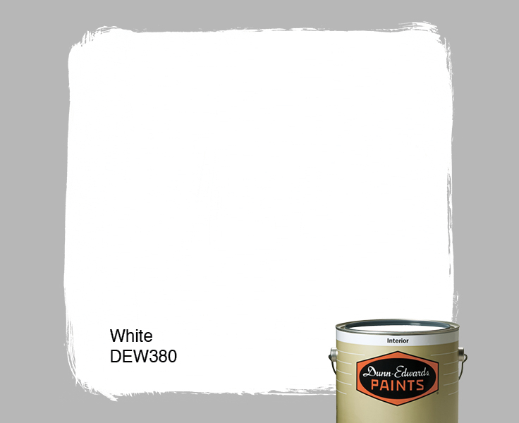 White (DEW380) — Dunn-Edwards Paints