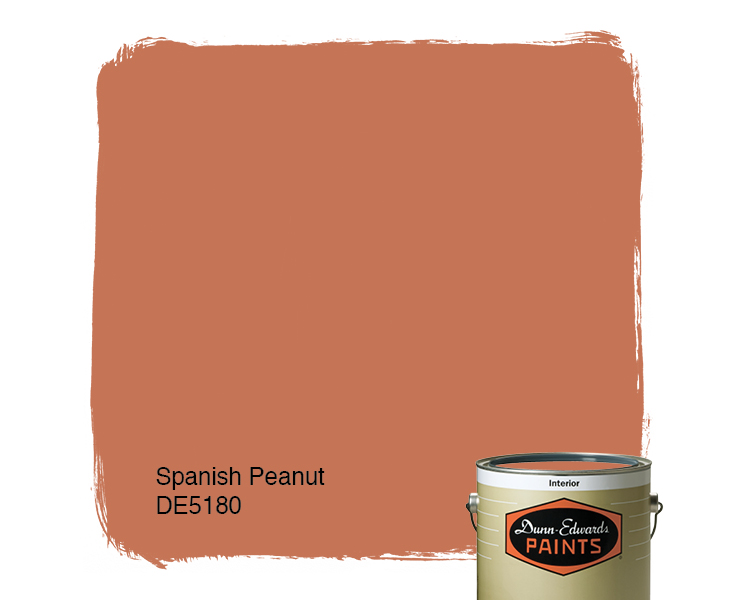Spanish Peanut De5180 Paint Color Dunn Edwards Paints