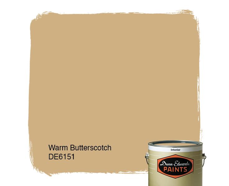 Warm Butterscotch De6151 Paint Color D0b082 Dunn Edwards Paints