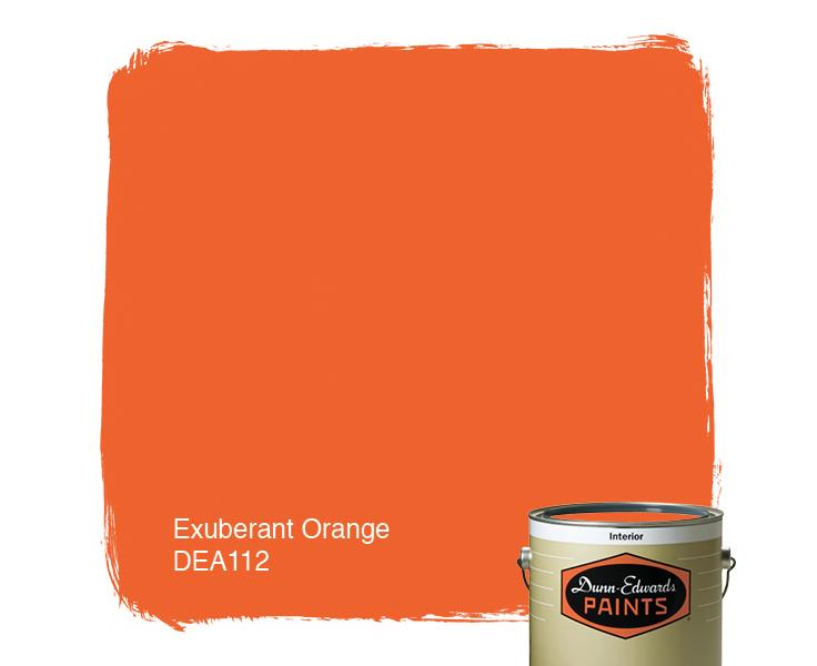 Exuberant Orange Dea112 Paint Color F0622f Dunn Edwards Paints