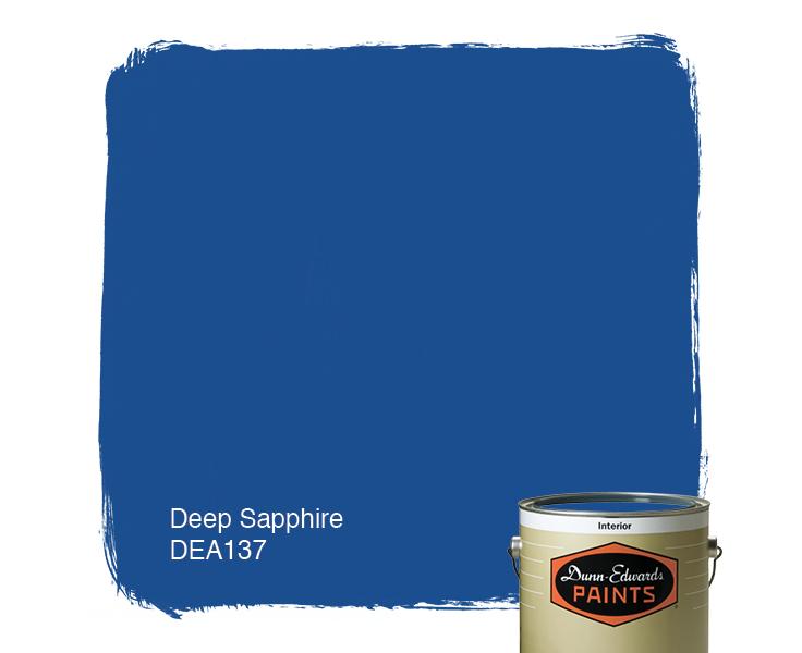 Deep Sapphire Dea137 Paint Color 1d4e8f Dunn Edwards Paints