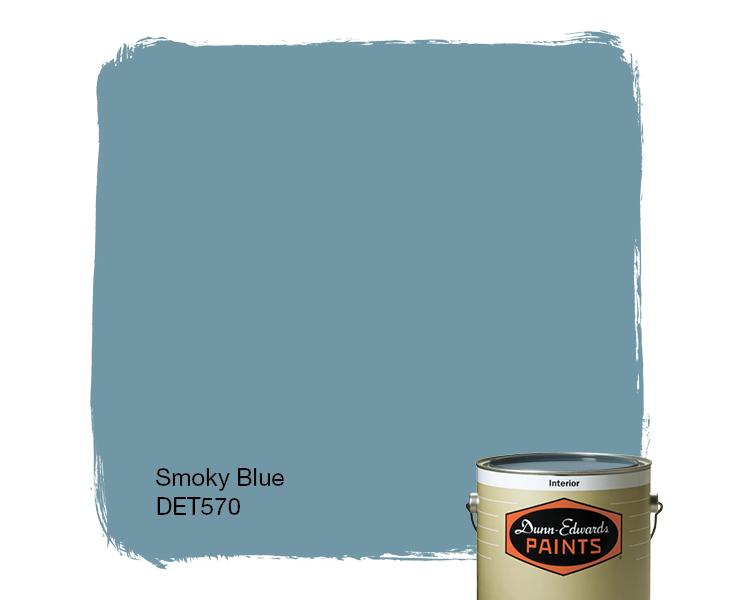 Relatively Smoky Blue (DET570) — Dunn-Edwards Paints FJ22