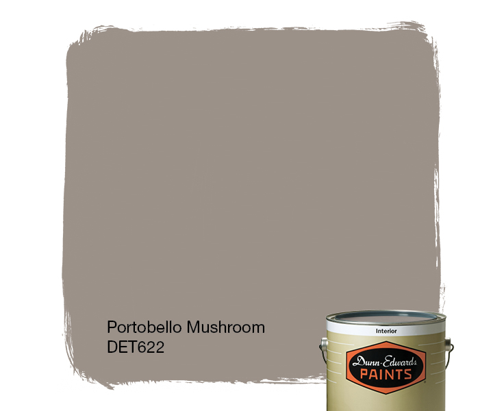 Portobello Mushroom Det622 Paint Color Dunn Edwards Paints