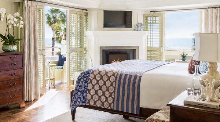 Bedroom of Shutters on the Beach