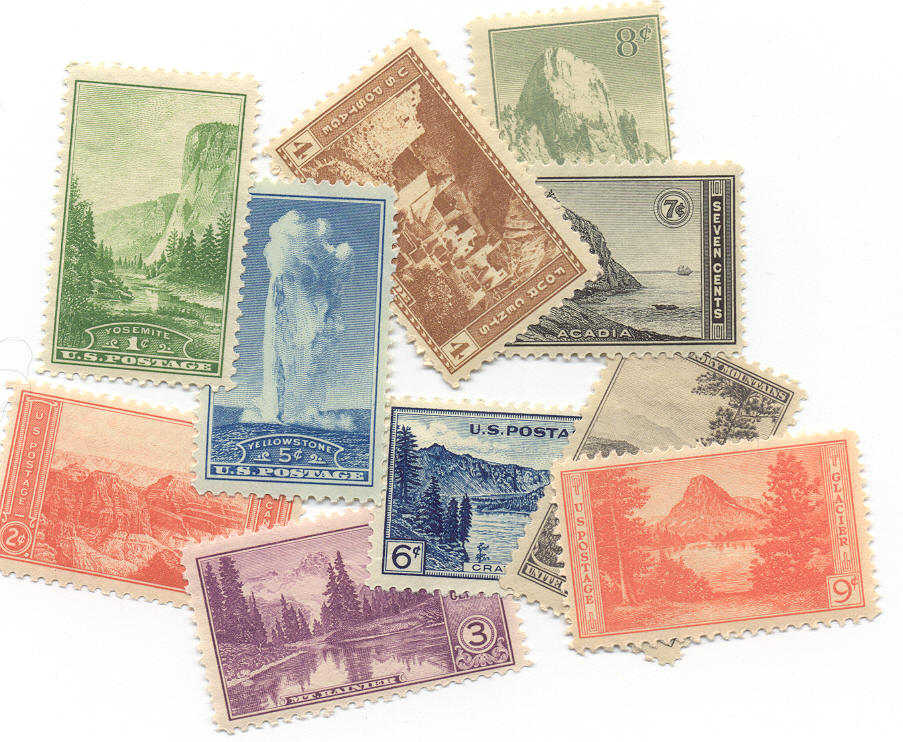 1934 Stamp Collection