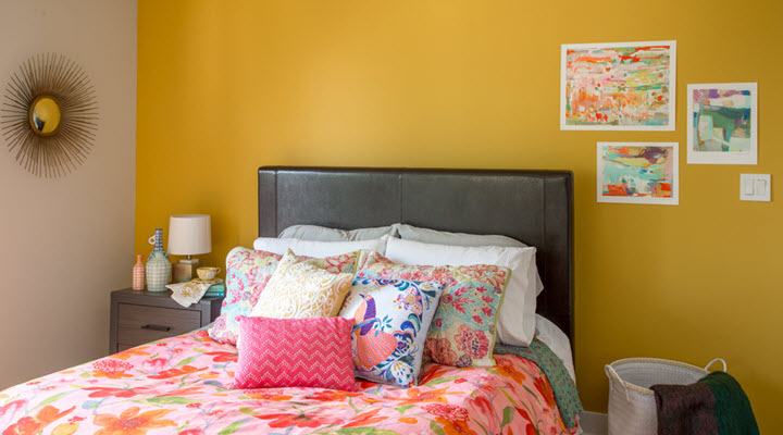 Bedroom color of the year