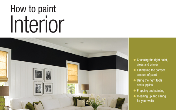 How to paint interior