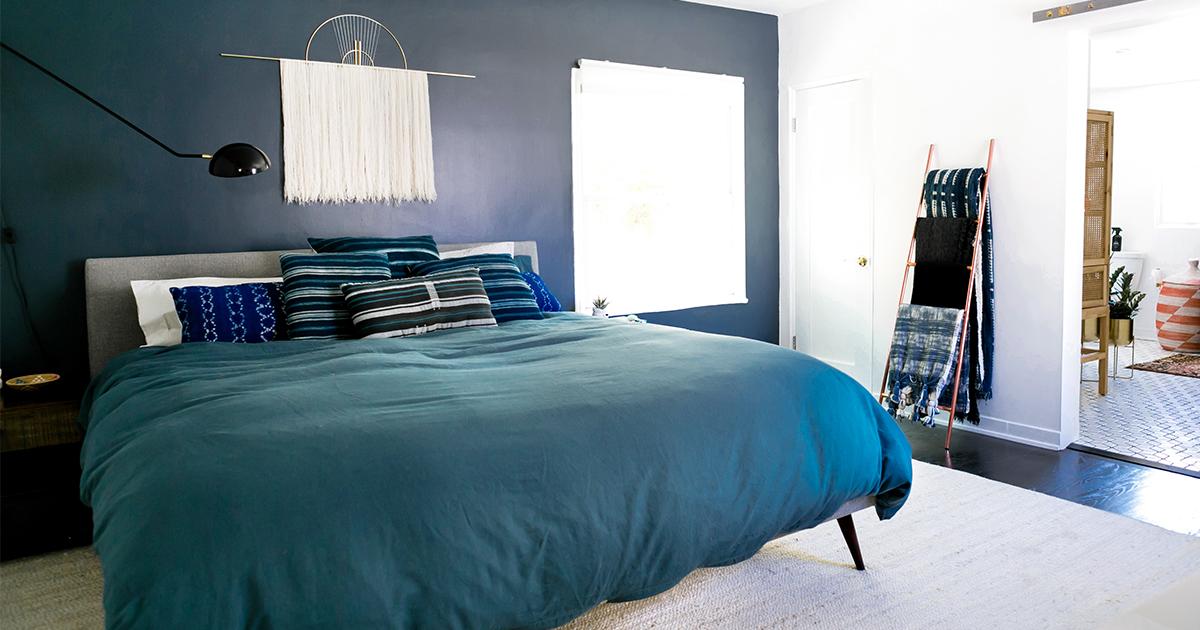 Building A Room Around Blue