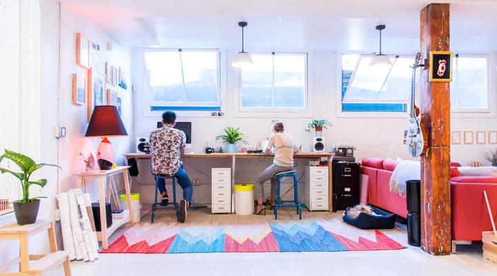 Working desks design