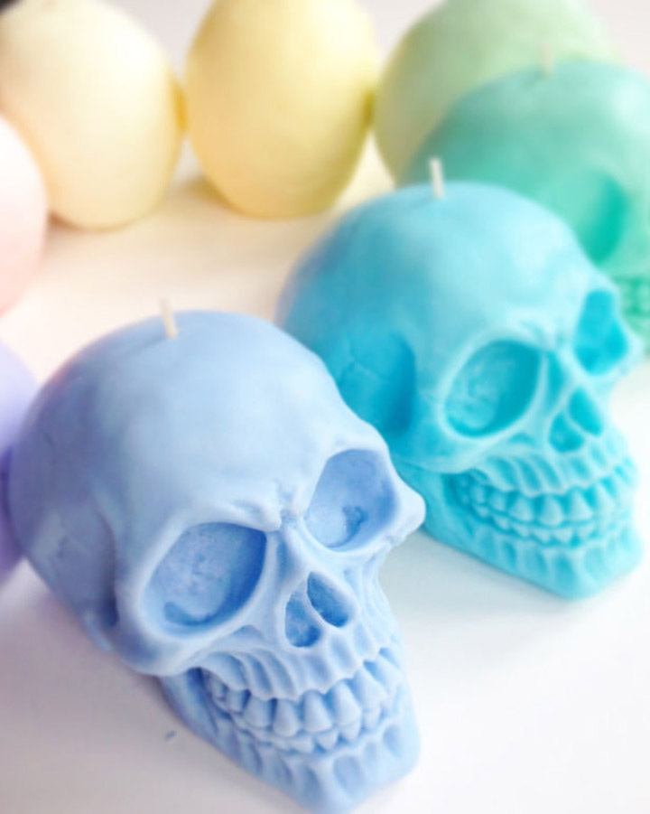 gallery 1506023909 pastel skull candles