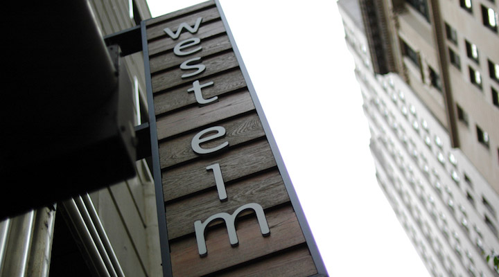 West Elm Sign