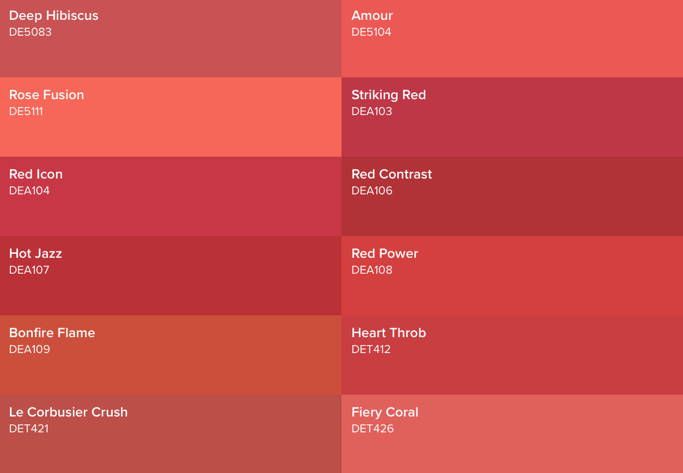Red Palette