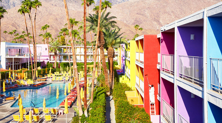 Palm Springs' Saguaro Hotel