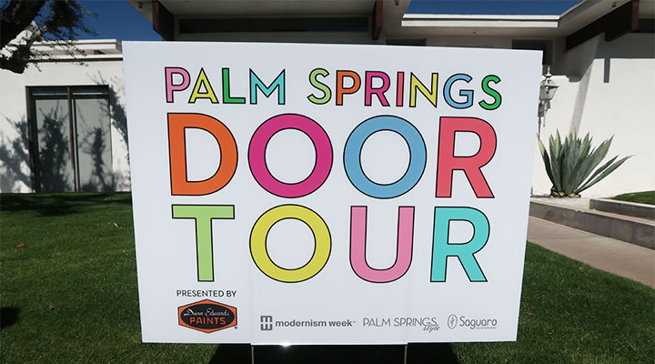 2018 Modernism Week Palm Springs Door Tour