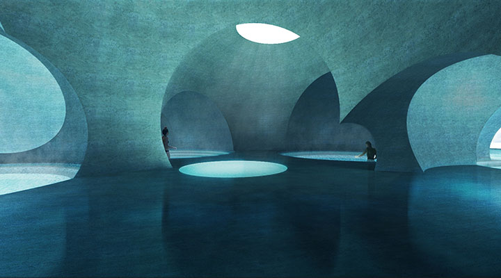 Steven Christensen Architecture Liepaja Thermal Bath Interior 2