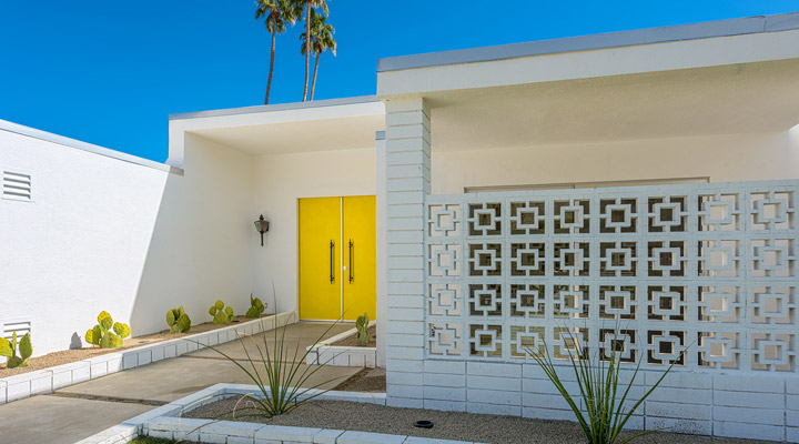Mid-century Modern Home exterior 2