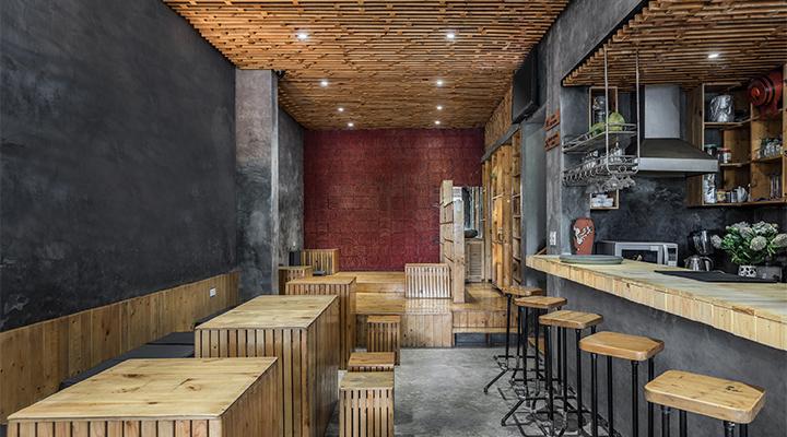 Koi Cafe Interior