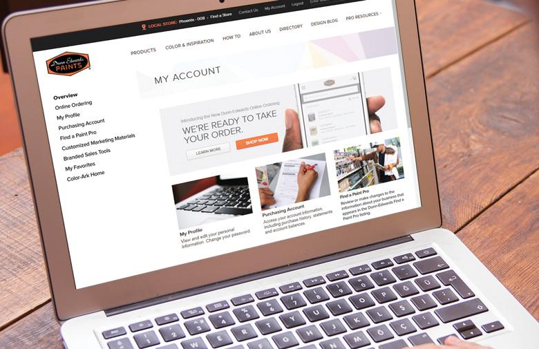 Online Ordering For Contractors