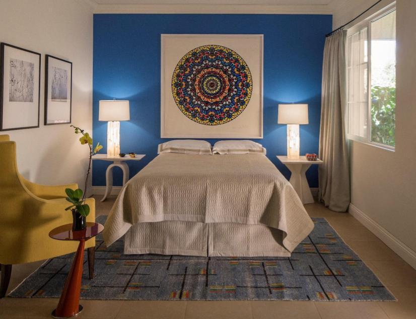 Dorothy Willets Blue Bedroom