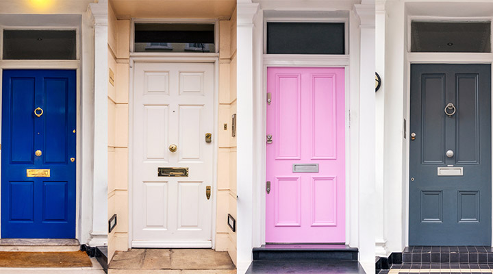 2018 Summer Color Picks To Steal For Your Front Door
