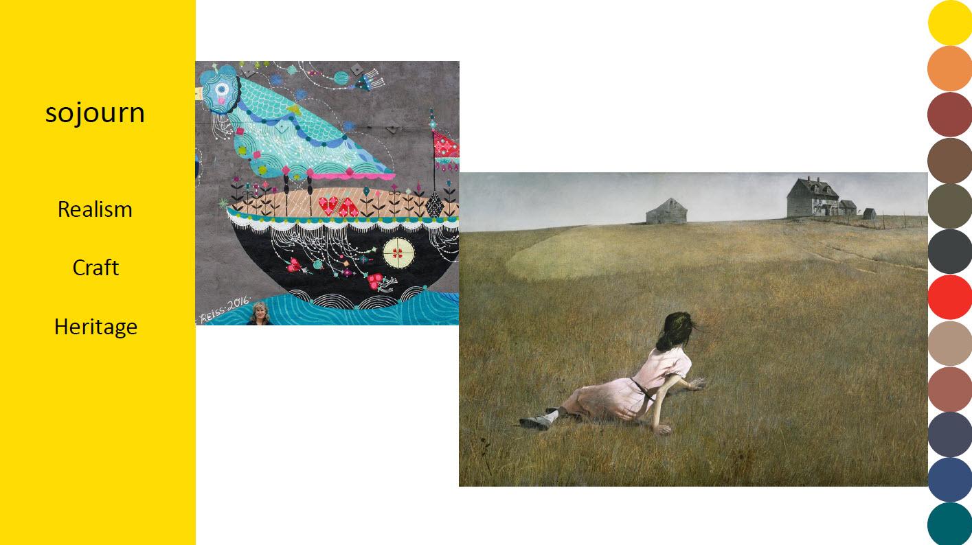 Sojourn, Realism, Craft, Heritage