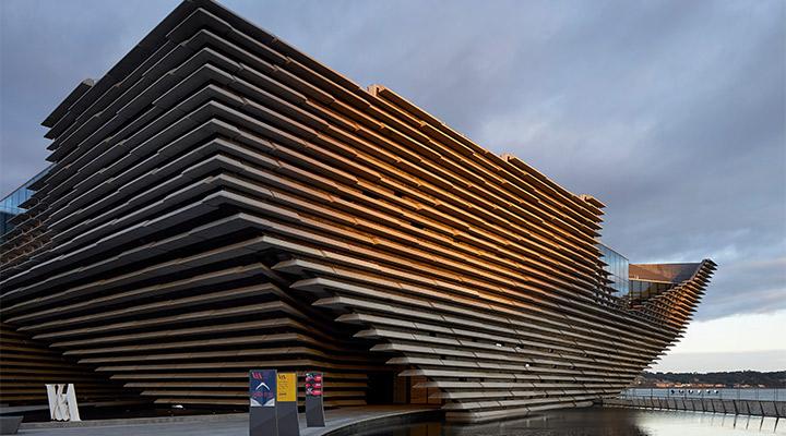 Dundee Scotland HuftonCrow Exterior