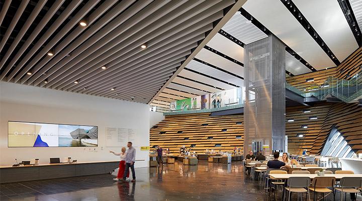 Museum Reception Area