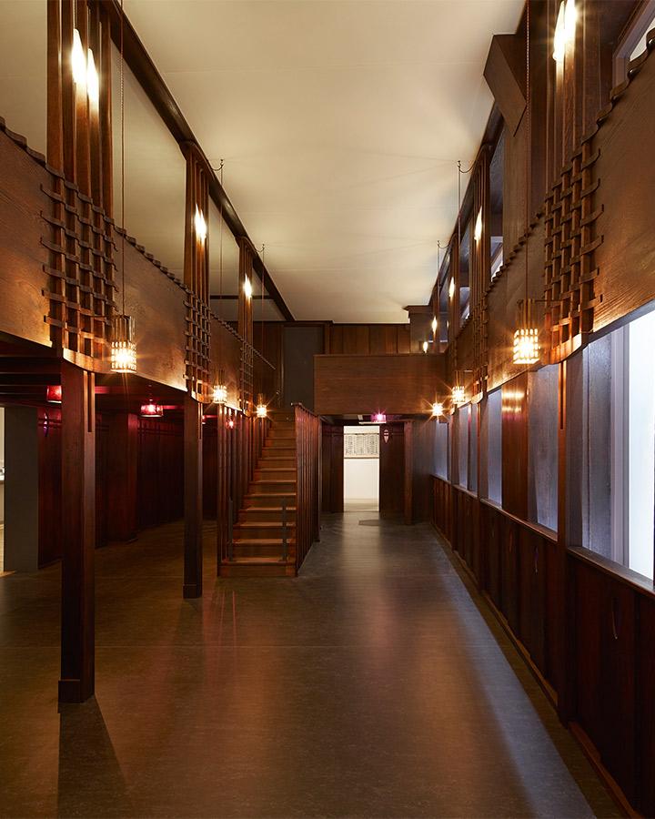 Charles Rennie Mackintosh Oak Room