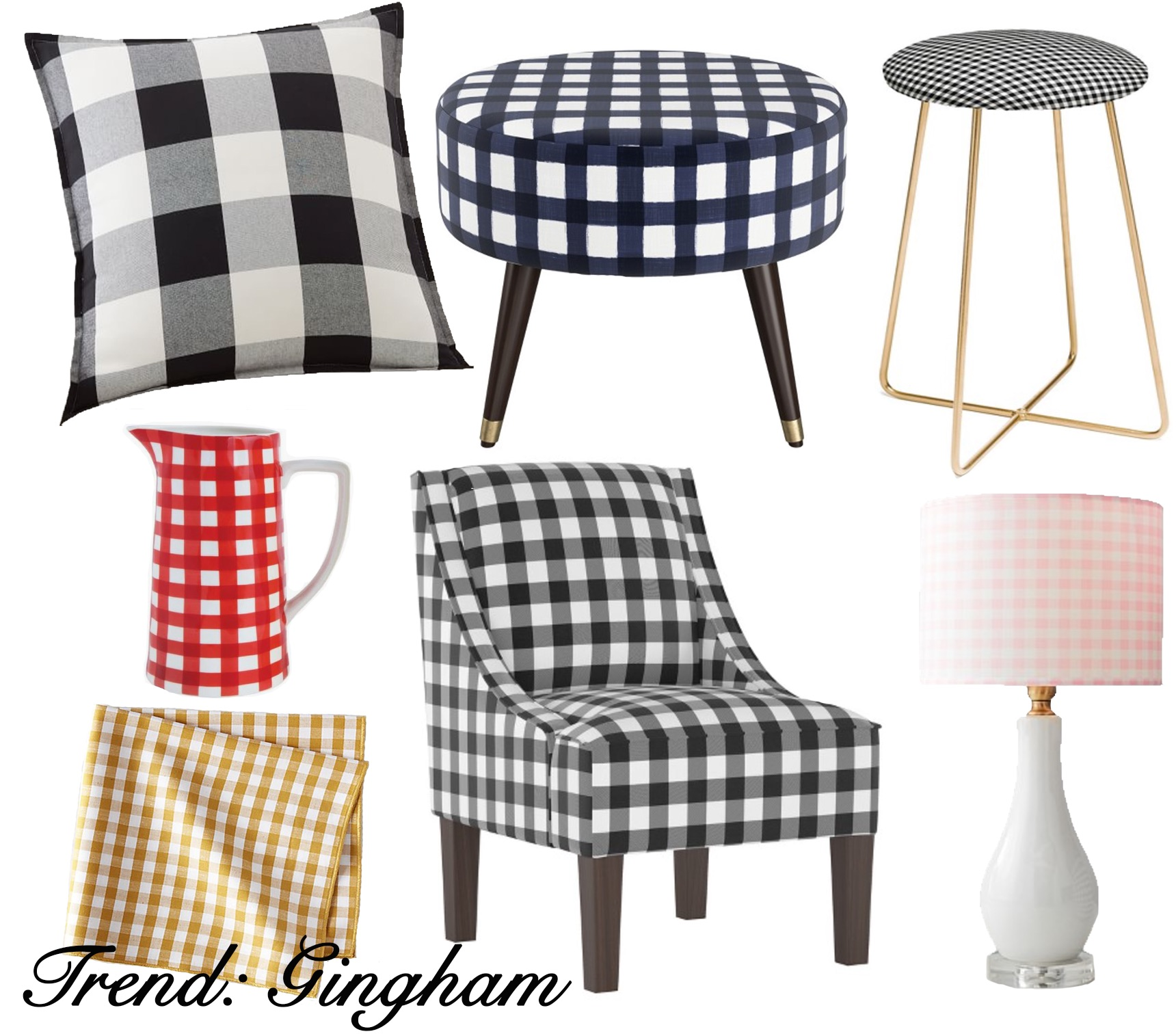 Holiday Design Trends A Modern Take On Gingham