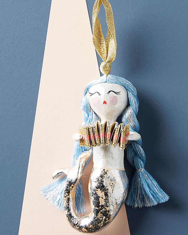 Mystical Mermaid Ornament