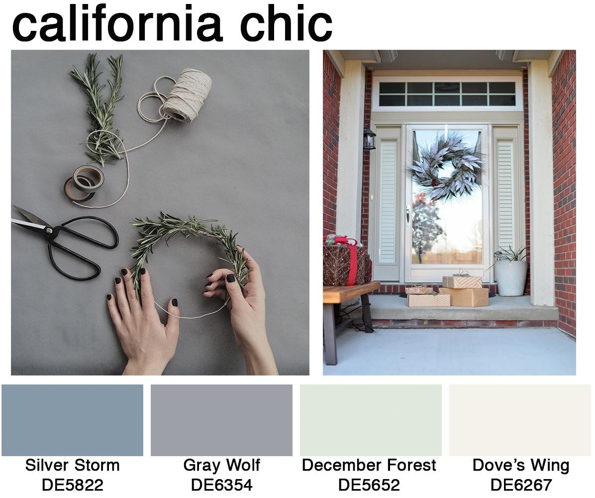 California chic color scheme