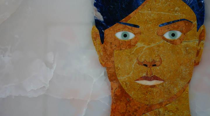 Marble portrait