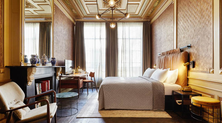 Concept guest room