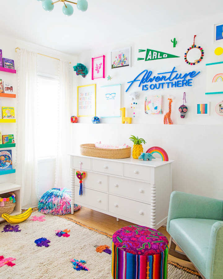 Diy Colorful Rooms: Studio DIY Makes Life A Party With Colorful Bedroom