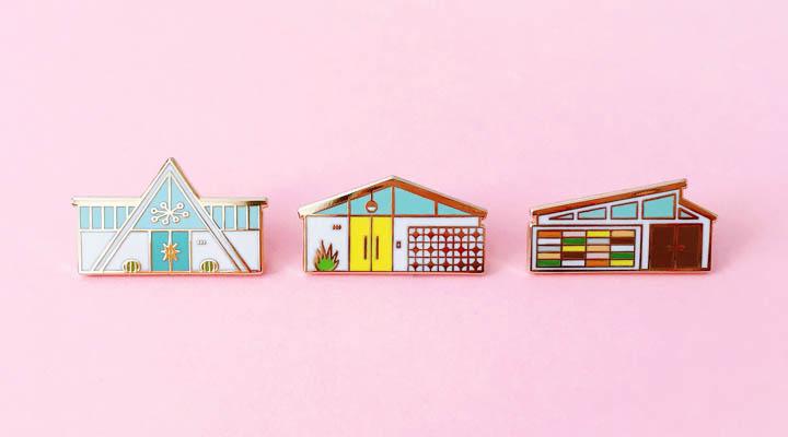 DE House Pins
