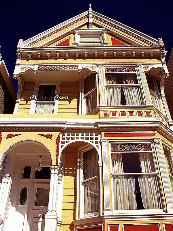 History of Painted Ladies San Francisco